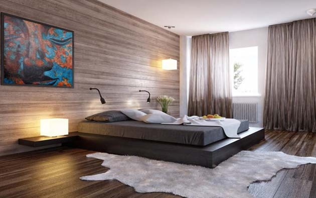 remarkable-headboard-black-bed-wood-clad-interior-wall-photo-836x627