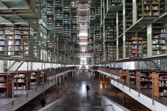JOSE VASCONCELOS LIBRARY,MEXICO CITY