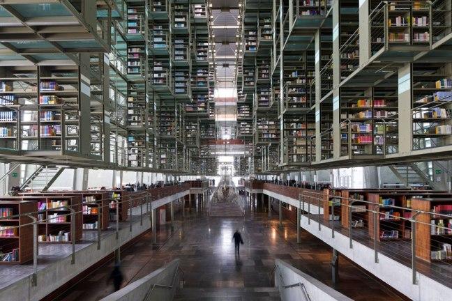 JOSE VASCONCELOS LIBRARY,MEXICO CITY