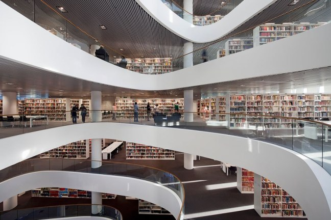 UNIVERSITY OF ABERDEEN NEW LIBRARY,ABERDEEN ,SCOTLAND